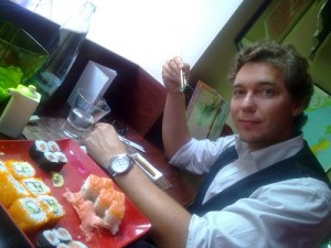 Ochutnávka čerstvého sushi v Sushi Island