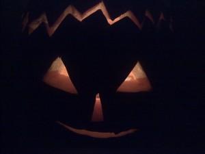 Halloween aneb strašák na balkoně