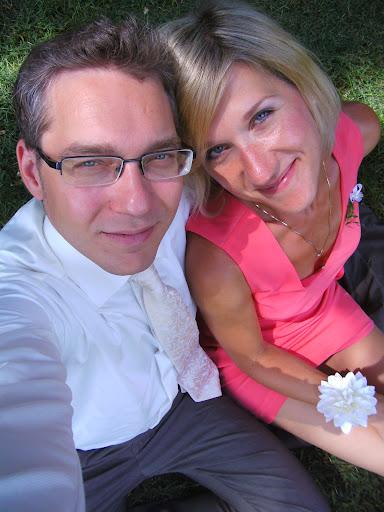 Na svatbě Kuby a Kačky