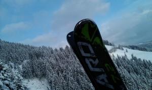 Výlet Ferdíka nach Kitzbühel na lyžovačku