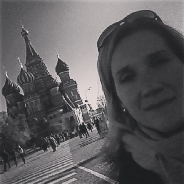 Fotka od Verunky. Moscow