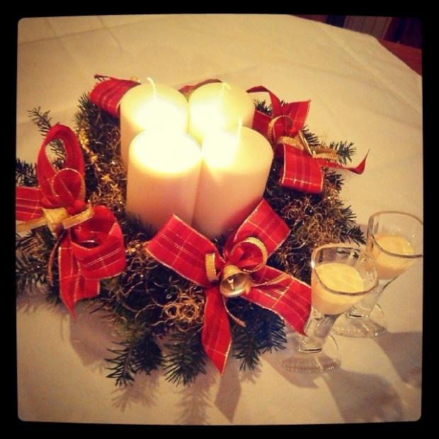 Fotka od Verunky. Frohliche advent u Valentiku