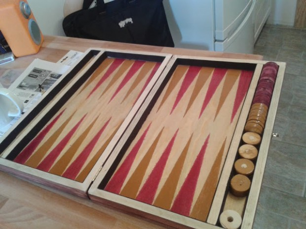 Backgammon – do it yourself