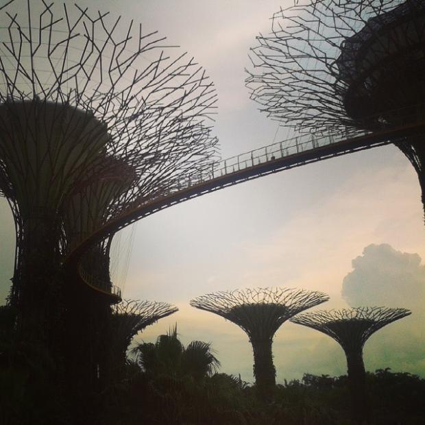 Přicestovali jsme do Singapuru