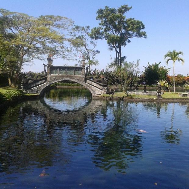 Fotka od Ferdika. Chillin' in Tirtagangga