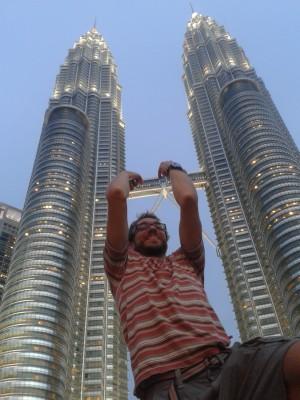 Přicestovali jsme do Malajsie