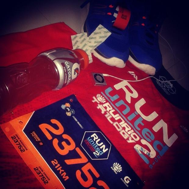 Fotka od Ferdika. Ok, lets do some race! #rununited2 #manilarun #nightrun #21km