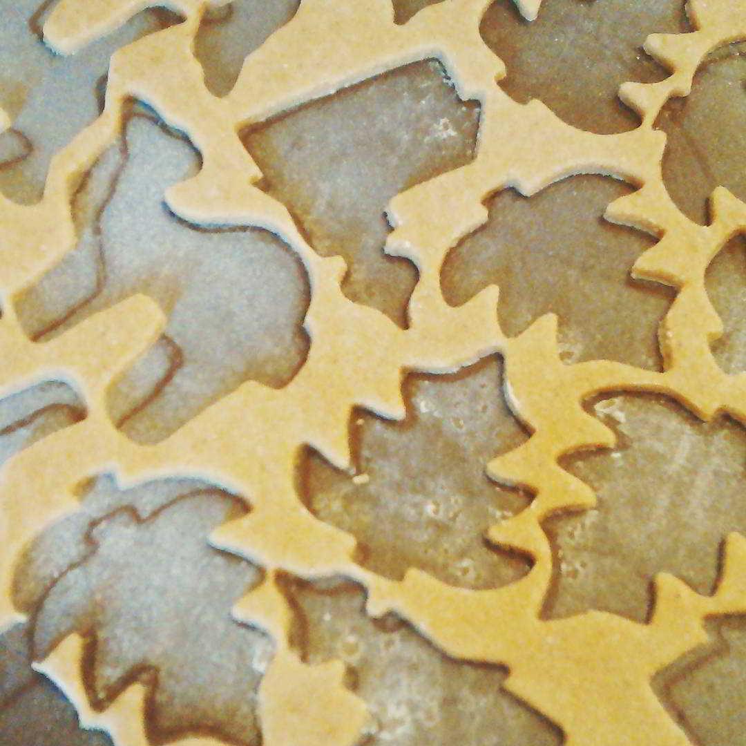 Fotka od Verunky. Slysite uz taky rolnicky? :) #christmasbaking #gingerbread