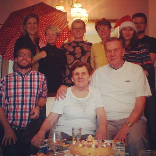 Fotka od Ferdika. Family time, this year without @kubagrossmann & @mishahol. #family, #christmas