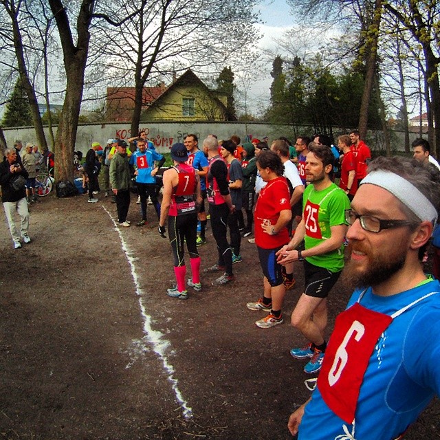 Fotka od Ferdika. 105/366: 6,6km #trail #race this afternoon in #oborahvezda. I like these small #running events. It is great possibility to compare with others and also great tempo training. #run, #running, #runningprague, #runshots, #gopro, #goprohero, #bestoftheday, #tempo, #runfast, #newbalance