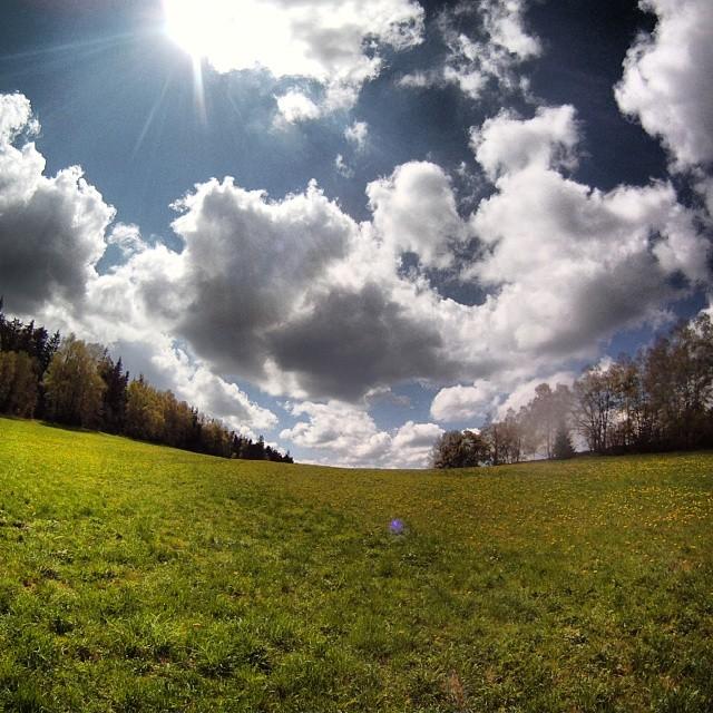 Fotka od Ferdika. 129/366:Bye, bye #Sumava, see you next time!#nature, #gopro, #goprohero, #bestoftheday, #track, #ascent, #volary, #prachatice, #šumava, #trail, #trailrun, #adidas