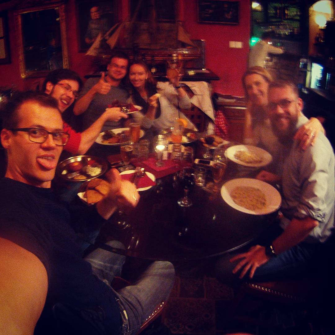 Fotka od Ferdika. 280/366: #Family #dinner in #restauracecharleston. #food, #foodporn, #tagliatelle, #pasta, #gopro, #goprohero, #bestoftheday, #topoftheday, #picoftheday