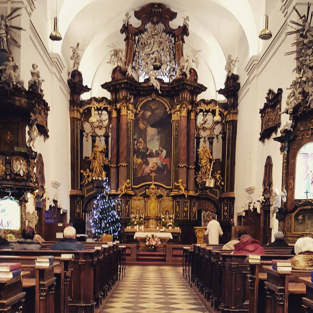Fotka od Ferdika. 359/366: Marry #Christmas to all! #church, #brno, #silentnight, #holynight, #family, #xmas, #topoftheday, #photooftheday, #picoftheday