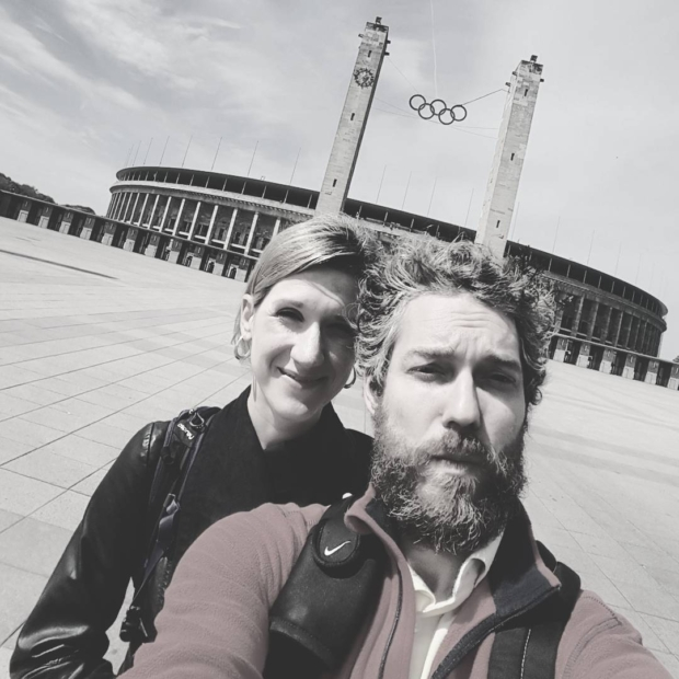 Fotka od Ferdika. I like visiting these places like #Olympic #Stadium in #Berlin where #sport #history has been written. With @verunkavalent