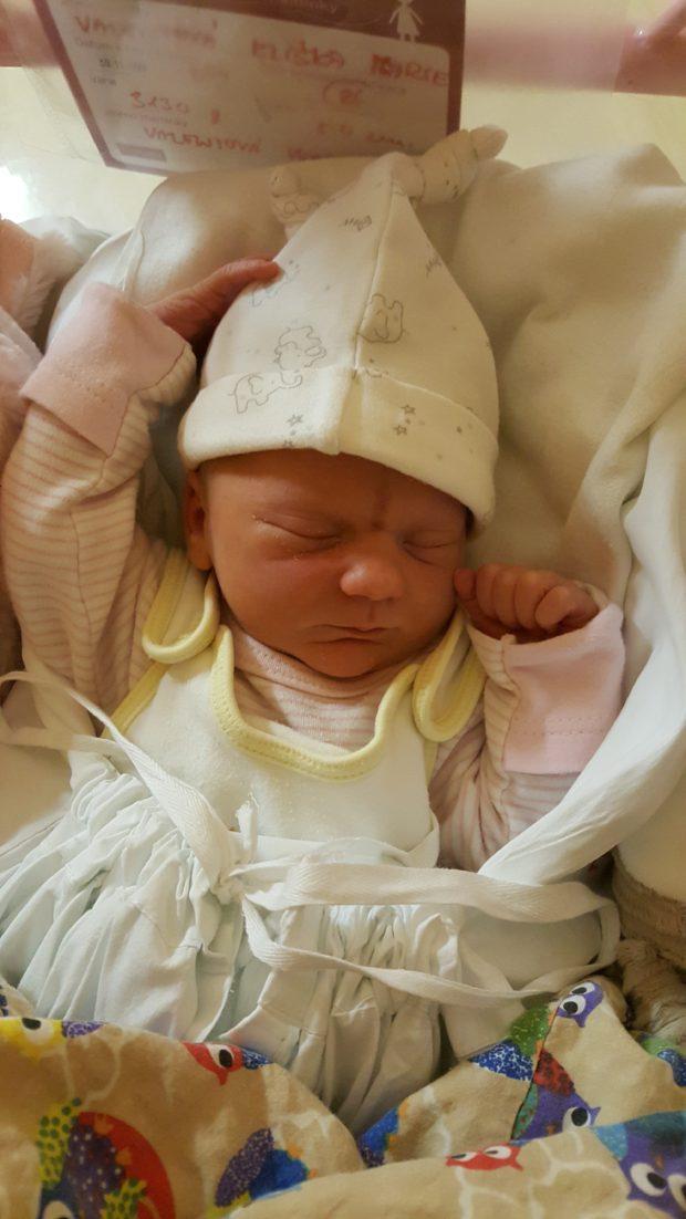 První fotky Elišky Marie