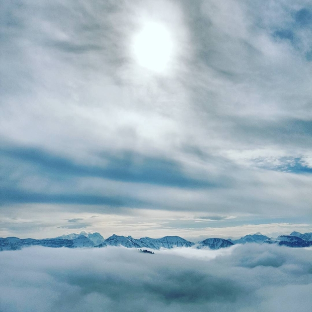 Fotka od Ferdika. There is always #sun above the #clouds! #hintersee, #ski, #mountains, #alps, #nature, #sky, #skying