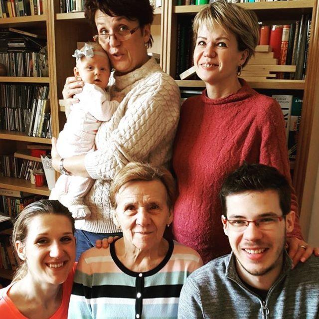Fotka od Verunky. 4 generace #ladiesweekend #babskejvikend #elismarja & supported by @kubagrossmann