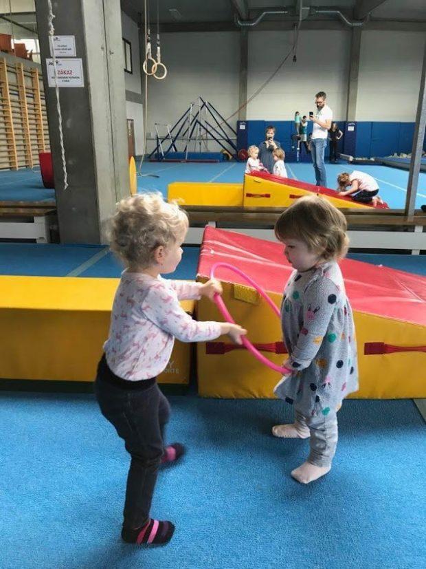 Gymnastika v Jojo Gymu v Dobřichovicích
