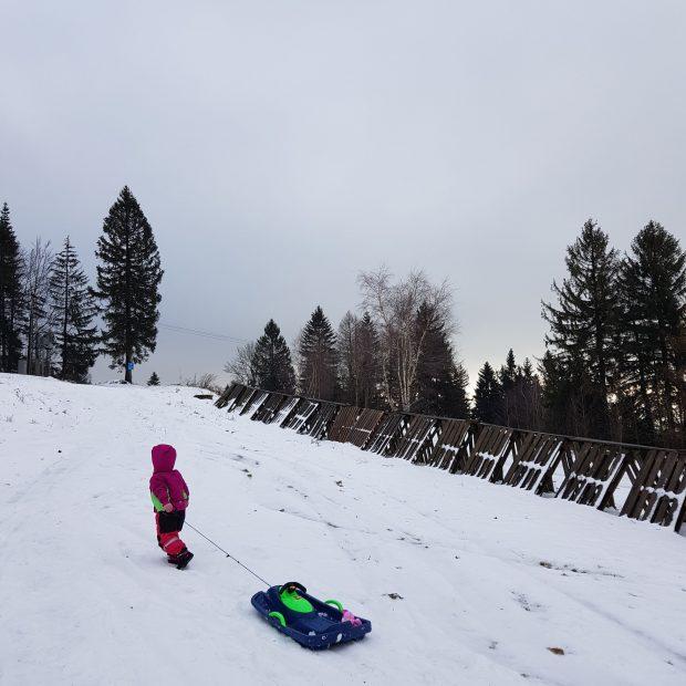 Za sněhem do Jizerek