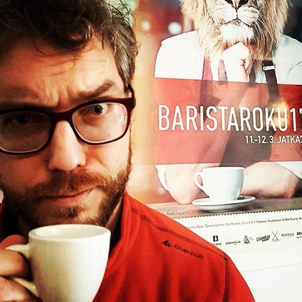 Fotka od Verunky. Soukromy cupping v #barryhiggelprague #pullitrkafe #superbarista